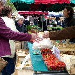 Local tradition to offer strawbs to itinerant monks